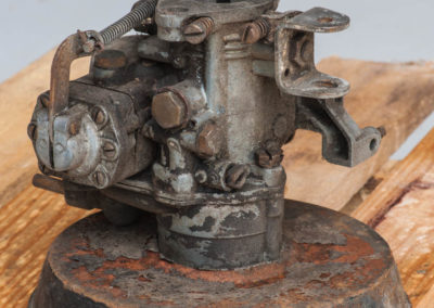 Carburateur avant décapage
