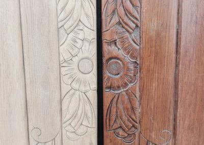 Portes armoire détail